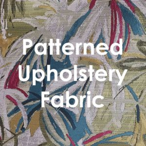 Patterned Upholstery Fabric